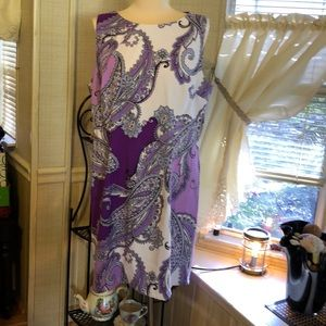 Colors so very pretty dress sleevless NWOT